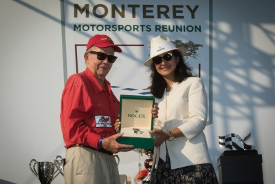 Talbot, Others Receive Special Honors at Successful Rolex Monterey Motorsports Reunion