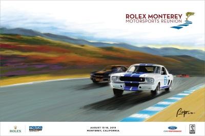 2015 ROLEX MONTEREY MOTORSPORTS REUNION POSTER UNVEILED
