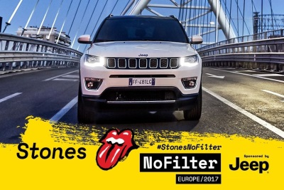 Jeep Compass Takes Centre Stage With The Rolling Stones