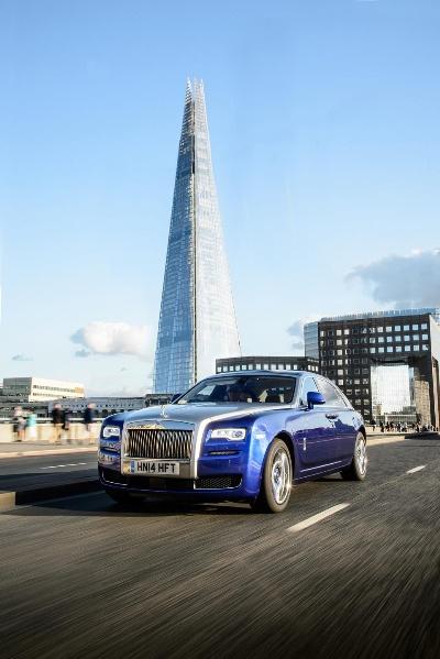 ROLLS-ROYCE GHOST SERIES II NAMED 'BEST LUXURY CAR' BY UK CAR OF THE YEAR JURY