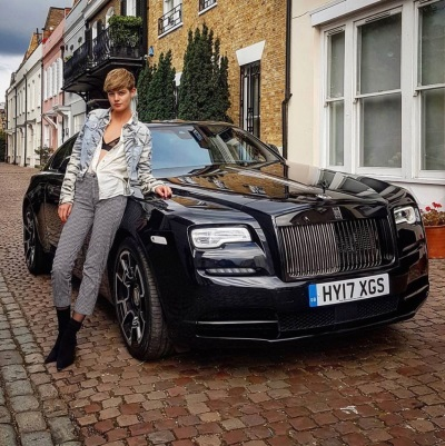 Rolls-Royce Motor Cars London Joins Forces With Storm Models For London Fashion Week 2017