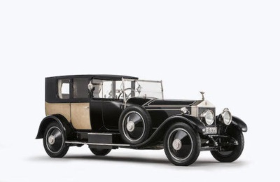 FAMOUS ROLLS-ROYCE 'MORE LIKE THE THRONE ROOM AT VERSAILLES THAN A CAR' FOR SALE AT BONHAMS