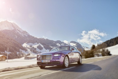 ROLLS-ROYCE MOTOR CARS TO GRACE COURCHEVEL AND ST. MORITZ