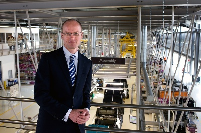 Rolls-Royce Appoints New Director Of Manufacturing