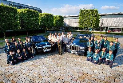 ROLLS-ROYCE CELEBRATES SCOUT SUCCESS