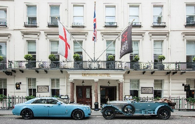 Rolls-Royce 'Works Team' Stops Off In London En Route To The 2013 Alpine Trial