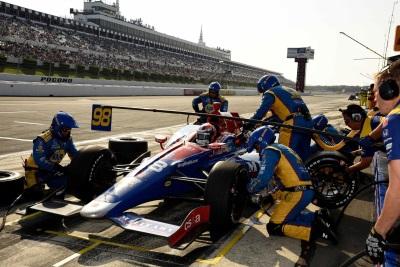 Rossi Heads Honda Effort At Pocono Race Report