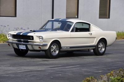 Very Early Production 1965 Shelby GT 350 to Cross the Block at Russo and Steele Monterey!