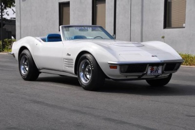 Ultra-Rare 1970 Corvette ZR-1 Convertible to be Featured  at Russo and Steele Monterey!