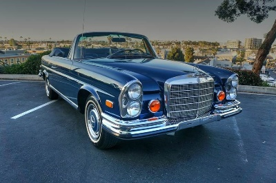 Glamorous and Rare Mercedes-Benz at Russo and Steele Newport Beach!