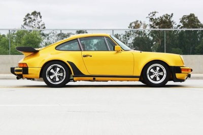 One of One Porsche Turbo to be Offered at Russo and Steele's Newport Beach Collector Car Auction Event