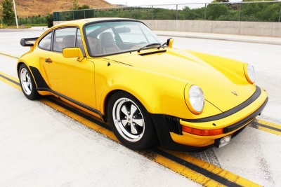 e of e Porsche Turbo to be fered at Russo and Steele