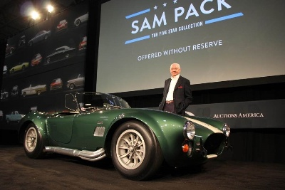 TEXAS-SIZED SAM PACK FIVE STAR COLLECTION ACHIEVES IMPRESSIVE $11.5 MILLION AT AUCTION