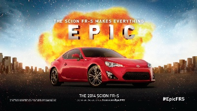 Scion Elevates the Epic with Social Media Contest