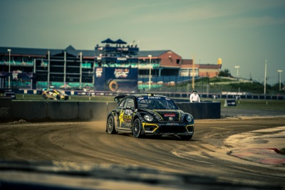 Perfect Weekend For Scott Speed Wraps Up Red Bull Global Rallycross Manufacturer's Championship For Volkswagen