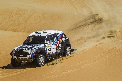 SEALINE CROSS-COUNTRY RALLY QATAR: NEXT DESERT RALLY FOR MINI