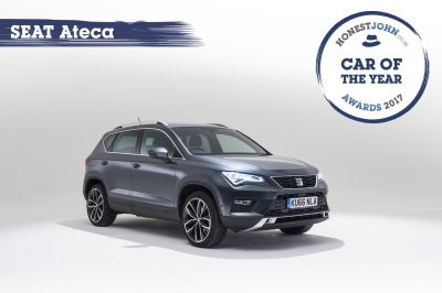 Seat Ateca Reigns Supreme In Honest John Awards 2017