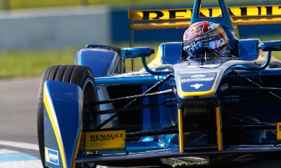 SEBASTIEN BUEMI TOPS DAY THREE OF DONINGTON PARK TESTING