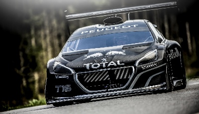 SEBASTIEN LOEB'S FIRST KING OF THE PEAK TRACK TESTS