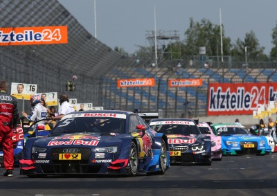 SECOND DTM VICTORY FOR MIGUEL MOLINA, ONE-TWO FOR AUDI