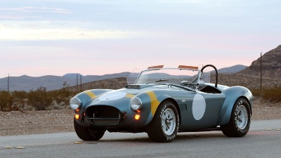 SHELBY AMERICAN COMMEMORATES 50TH ANNIVERSARY FIA COBRA WITH SPECIAL EDITION CAR