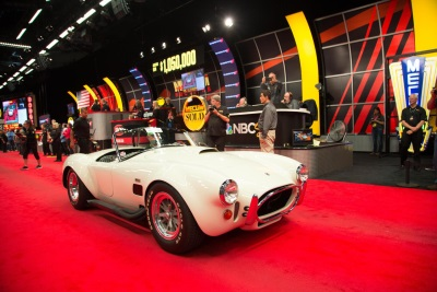 TWO SHELBY COBRA ROADSTERS REACH $1 MILLION AT DANA MECUM'S 29TH ORIGINAL SPRING CLASSIC AUCTION
