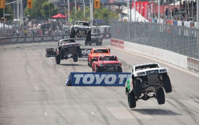 SHELDON CREED WINS RACE 2 AT TORONTO SPEED ENERGY FORMULA OFF-ROAD PRESENTED BY TRAXXAS