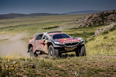 SILK WAY RALLY – LEG 5 CYRIL DESPRES RECOVERS THE LEAD AS STÉPHANE PETERHANSEL HITS TROUBLE