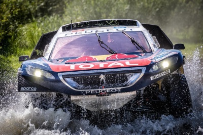 SILK WAY RALLY – LEG 3: CYRIL DESPRES EMERGES IN FRONT