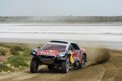 SILK WAY RALLY – LEG 6 PEUGEOT ON TOP AT REST DAY