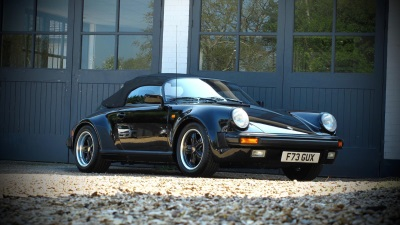 5,590 Mile 911 Speedster At Auction For The Very First Time