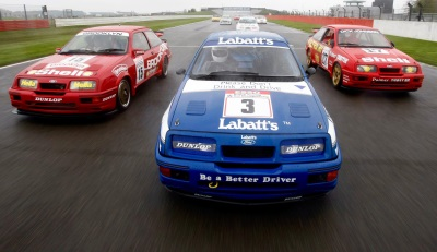Special 'Double Whammy' Races To Celebrate 30 Years Of The Legendary Ford Sierra RS500