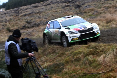 SIMPSON ENDS 18 MONTH RUN OF BAD LUCK WITH BRC POINTS-SCORING KIELDER FINISH IN HIS ŠKODA FABIA R5