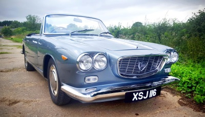 Sir Basil Spence's 1963 Lancia Flavia For Auction At Salon Privé