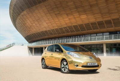 SIR CHRIS HOY UNVEILS GOLDEN LEAF GIVEAWAY FOR NISSAN'S SPONSORED ATHLETES WINNING GOLD IN RIO
