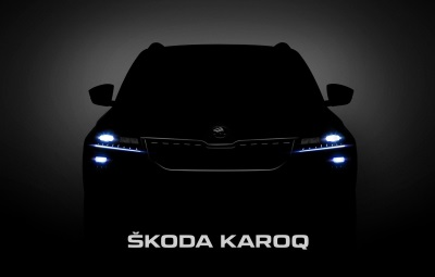 First Close-Up Pictures Of The Škoda Karoq: Expressive Design For The New Compact SUV