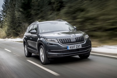 Haul The Way To The Top: Škoda Kodiaq Is Named 2018 Caravan And Motorhome Club Towcar Of The Year