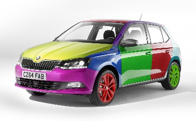 ŠKODA SHADECHANGE™ TECHNOLOGY BRINGS A NEW WORLD OF COLOUR TO FABIA OWNERS