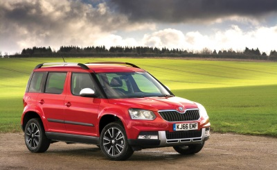 It's Official: Owners Rate The Škoda Yeti As The UK's Best Used Car Buy In The 2017 Auto Express Driver Power Survey