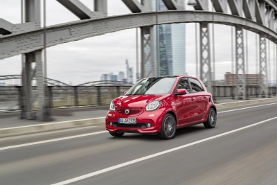 Top version with 80 kW/109 hp coming in the summer: More power than ever: the new smart BRABUS