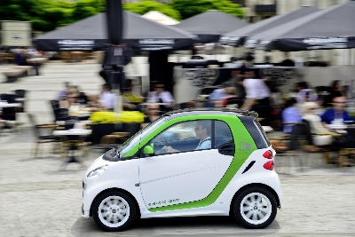 SMART ELECTRIC DRIVE ARRIVES ON THE STREETS OF CHINA