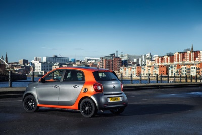 smart forfour named City Car of the Year at UK Car of the Year Awards