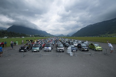 smart times 2013 in Lucerne: 1,700 smart fans from 24 countries celebrated three anniversaries of their brand at once
