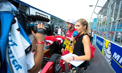 SOUTH AMERICA TV BOOST FOR FORMULA E