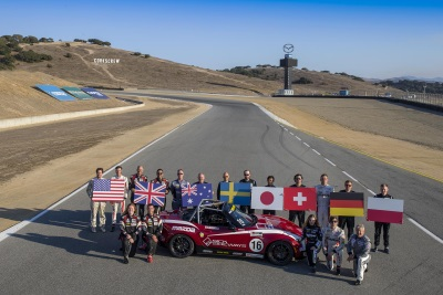 'SPARKY' WINS INAUGURAL MAZDA MX-5 CUP GLOBAL INVITATIONAL