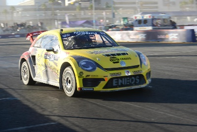 SCOTT SPEED FINISHES THIRD IN RED BULL GLOBAL RALLYCROSS DRIVER CHAMPIONSHIP