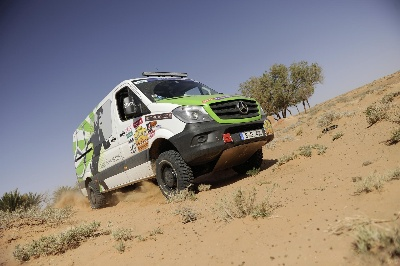 New Sprinter 4x4 wins 24th Rallye Aïcha des Gazelles in Morocco
