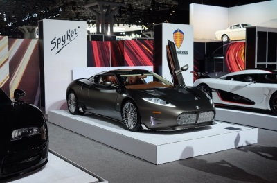 NORTH-AMERICAN DEBUT FOR THE SPYKER C8 PRELIATOR AT THE NEW YORK INTERNATIONAL AUTO SHOW