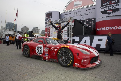 SRT MOTORSPORTS AND WITTMER VICTORIOUS IN WORLD CHALLENGE AT TORONTO