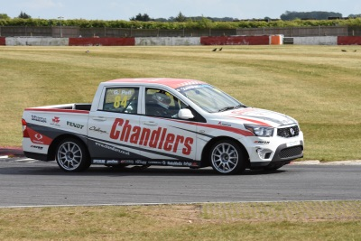 SsangYong Musso Pick-Up Racing Heads To Silverstone
